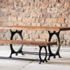 Hyatt-Canning Industrial Dining Bench