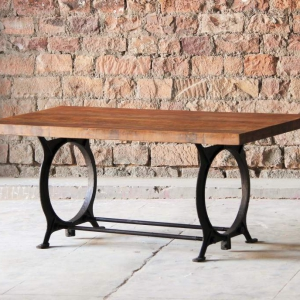 Hyatt-Canning Industrial Dining Table