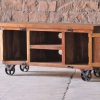 Hyatt TV Unit on Wheels