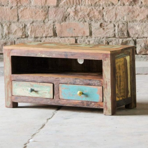 Mary Rose Upcycled 2 Drawer TV Unit