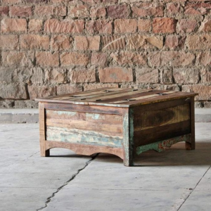 Riya Upcycled Trunk Coffee Table