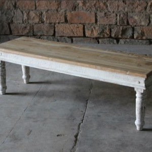 Sahira Upcycled Large Dining Bench