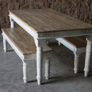 Sahira Upcycled Large Dining Table