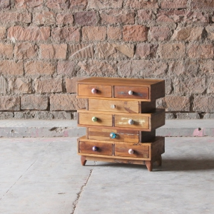 Shimla Upcycled 8 Multi Drawer Storage Chest