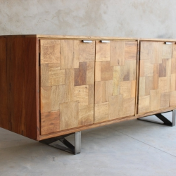 Hickory Upcycled 4 Door Sideboard