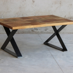 Hickory Upcycled Coffee Table