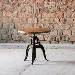Hyatt-Fulton Industrial Height Adjustable Crank Table