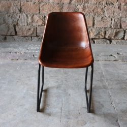 Hyatt Tub Chair - Dark Brown