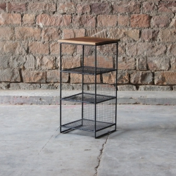 Layla Cube 3 Shelf Storage Unit