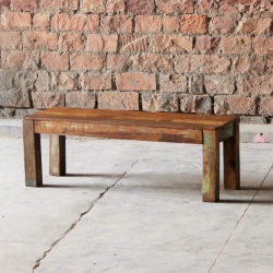 Mary Rose Medium Upcycled Dining Bench